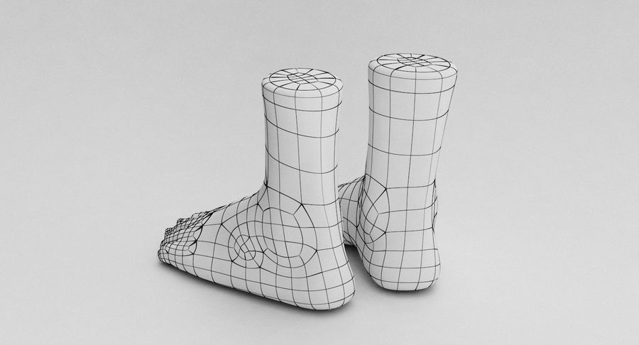 Realistic Foot royalty-free 3d model - Preview no. 23
