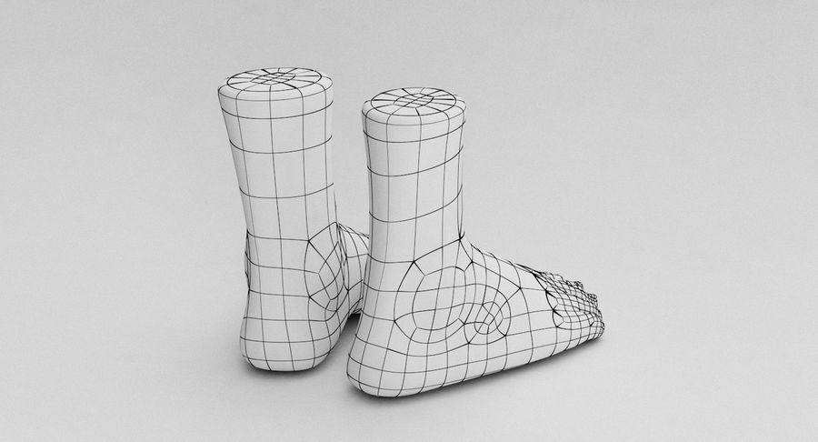 Realistic Foot royalty-free 3d model - Preview no. 21