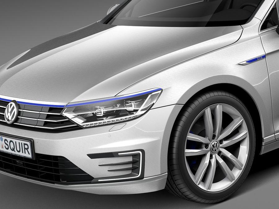 Volkswagen Passat Gte 2015 3d Model 129 Obj X Lwo Fbx C4d