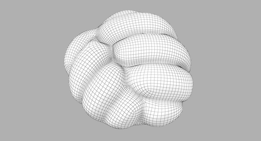 Bread Roll royalty-free 3d model - Preview no. 12