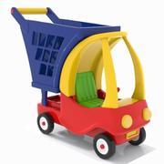 Panier adapté aux enfants 1 3d model