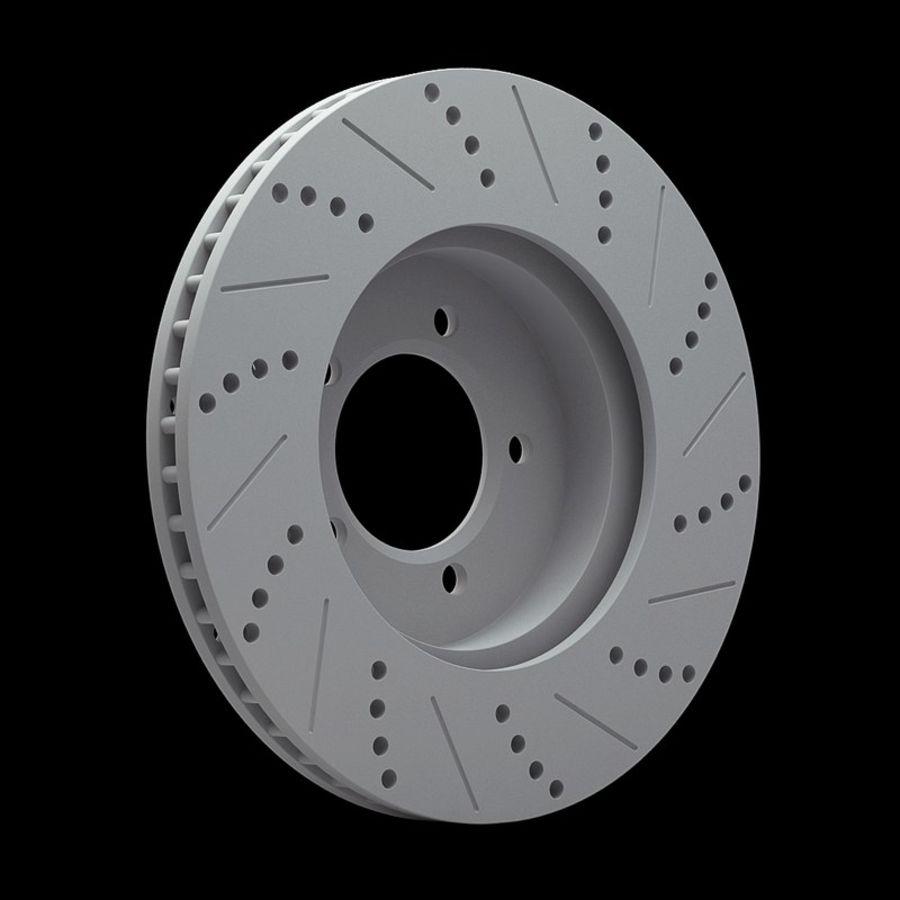 Brake Disk royalty-free 3d model - Preview no. 11