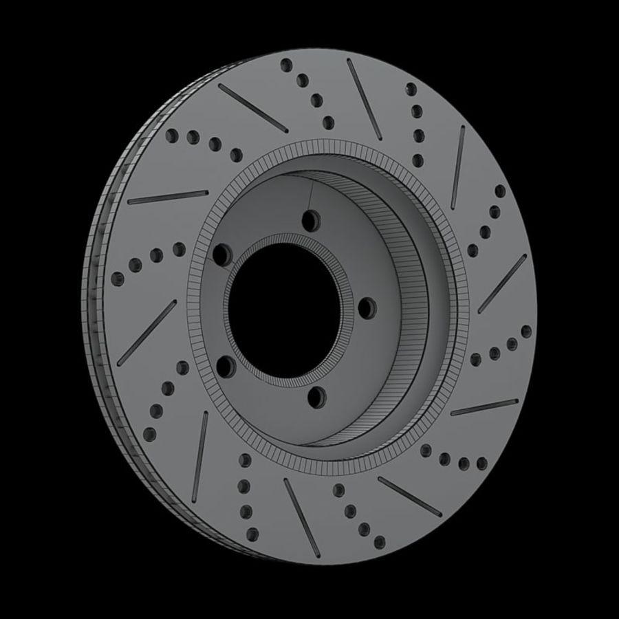 Brake Disk royalty-free 3d model - Preview no. 13