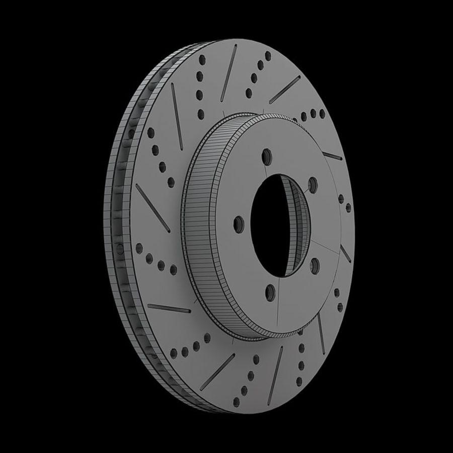 Brake Disk royalty-free 3d model - Preview no. 14