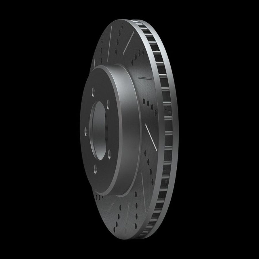 Brake Disk royalty-free 3d model - Preview no. 5