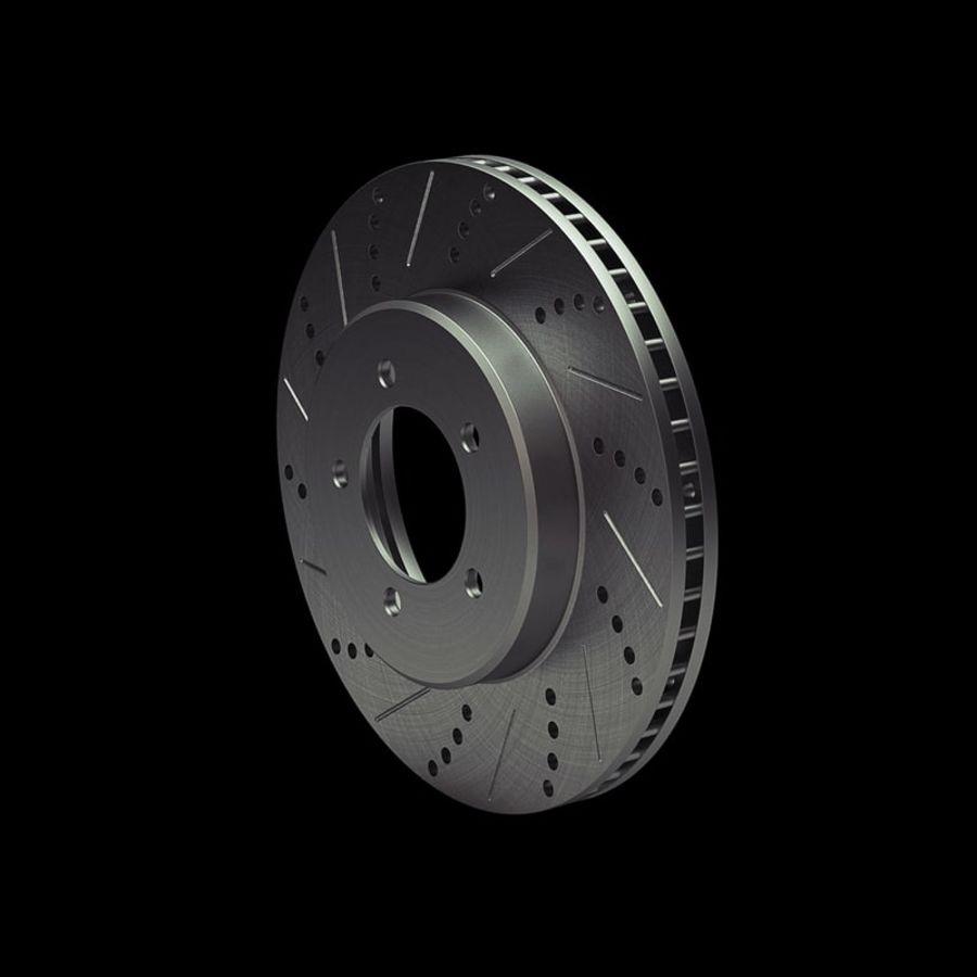 Brake Disk royalty-free 3d model - Preview no. 8