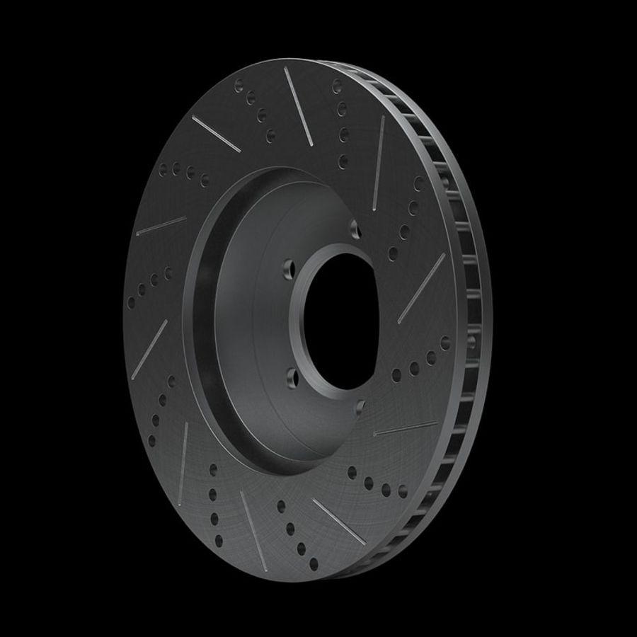 Brake Disk royalty-free 3d model - Preview no. 3