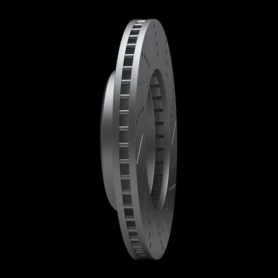 Brake Disk royalty-free 3d model - Preview no. 4