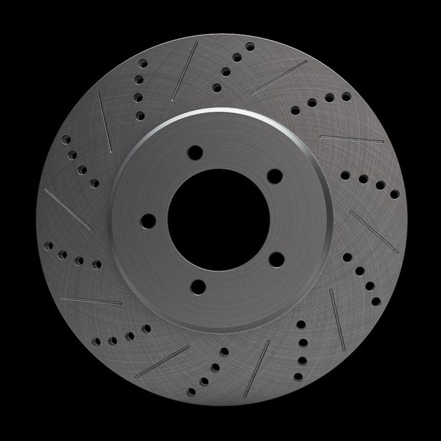 Brake Disk royalty-free 3d model - Preview no. 6