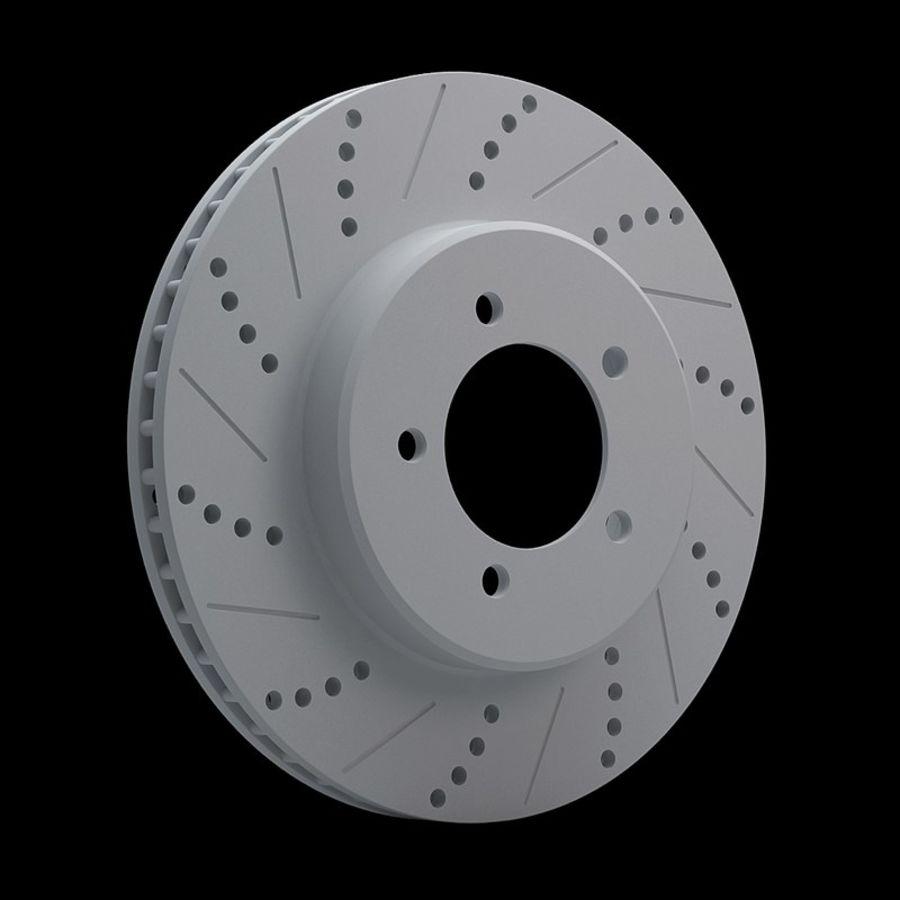 Brake Disk royalty-free 3d model - Preview no. 10