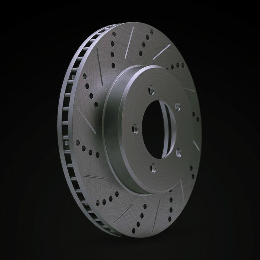 Brake Disk royalty-free 3d model - Preview no. 2