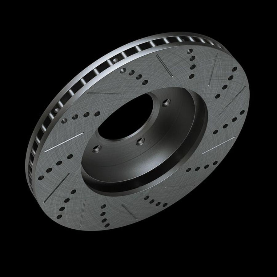 Brake Disk royalty-free 3d model - Preview no. 9