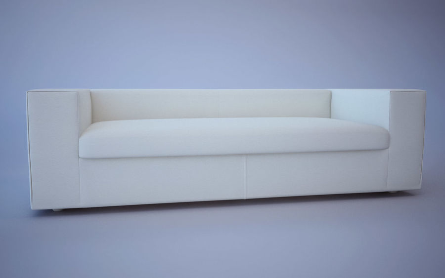 Sofa royalty-free 3d model - Preview no. 11