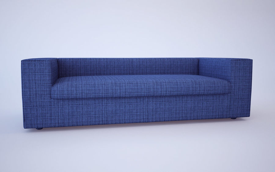 Sofa royalty-free 3d model - Preview no. 10