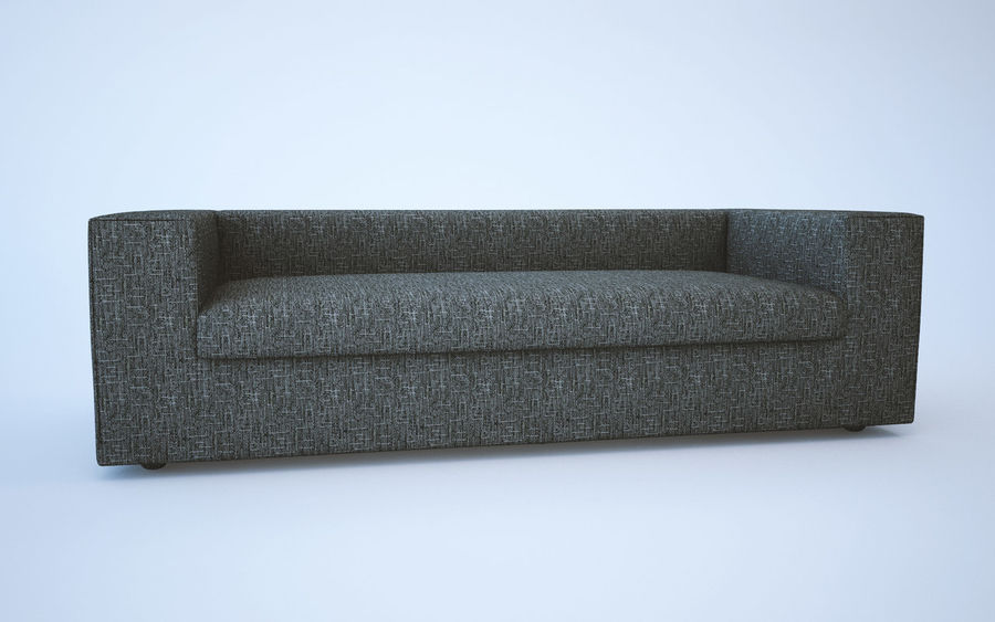 Sofa royalty-free 3d model - Preview no. 8