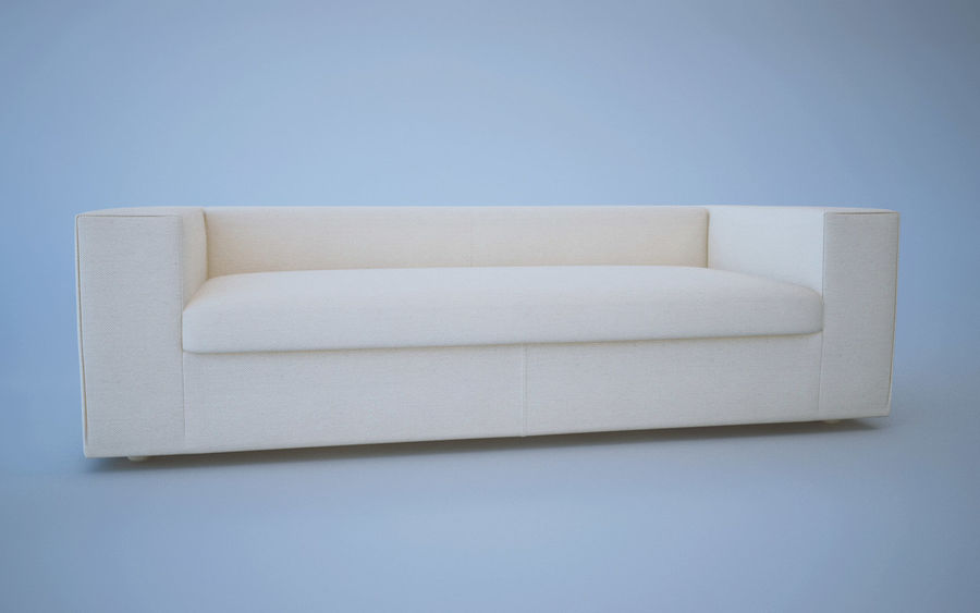 Sofa royalty-free 3d model - Preview no. 2