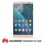 Huawei MediaPad X2 Gold 3d model