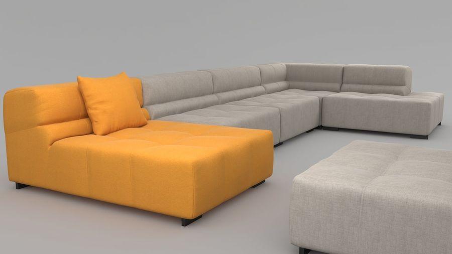 Tufty Time Sofa 3d Model 25 Unknown Obj Fbx 3ds
