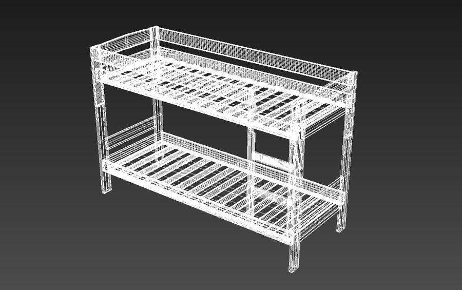 Våningssäng royalty-free 3d model - Preview no. 5