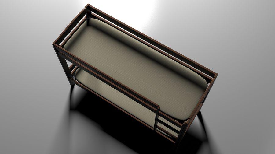 Våningssäng royalty-free 3d model - Preview no. 4