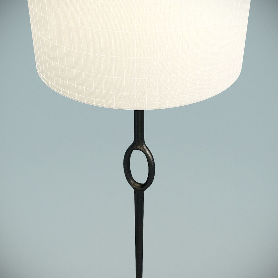 Floor Lamp royalty-free 3d model - Preview no. 6