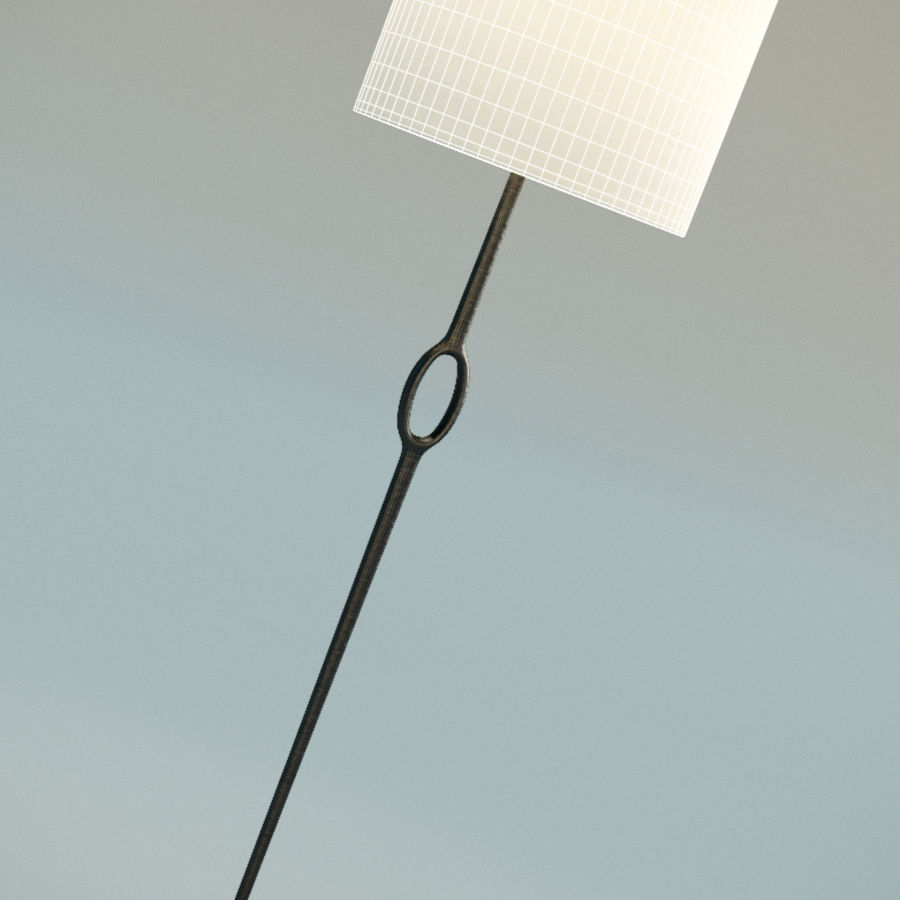 Floor Lamp royalty-free 3d model - Preview no. 5