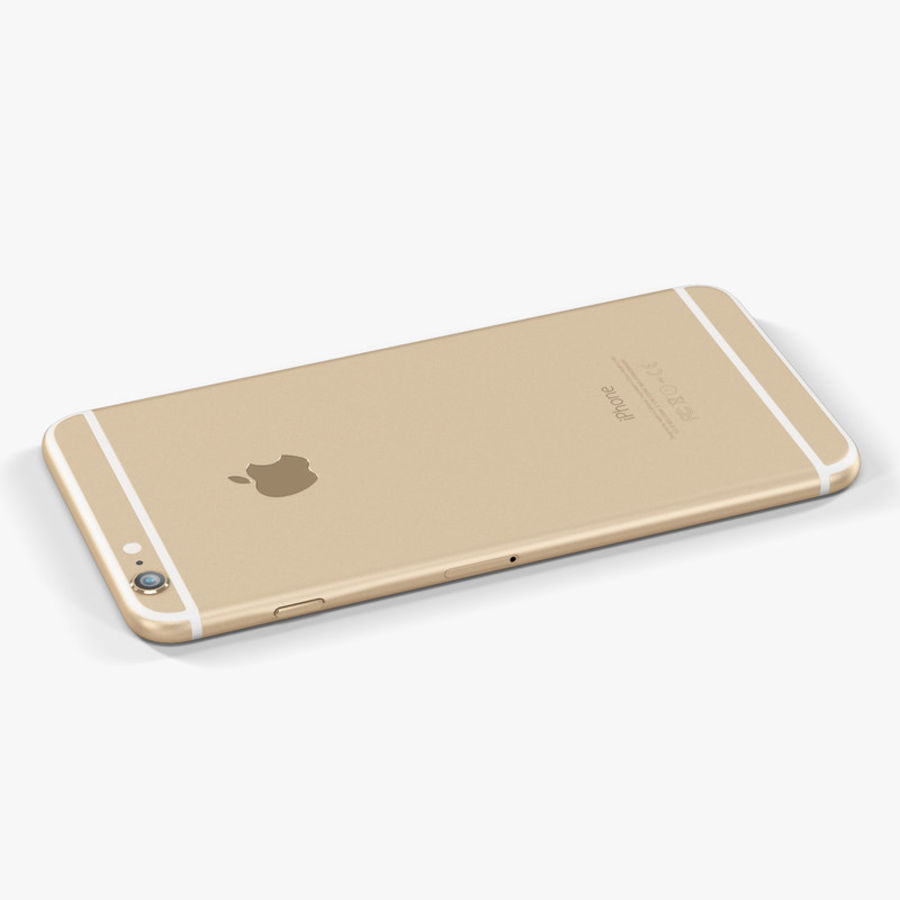 Apple iPhone 6 Plus royalty-free 3d model - Preview no. 6