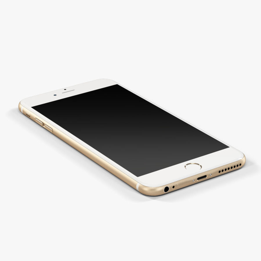 Apple iPhone 6 Plus royalty-free 3d model - Preview no. 7