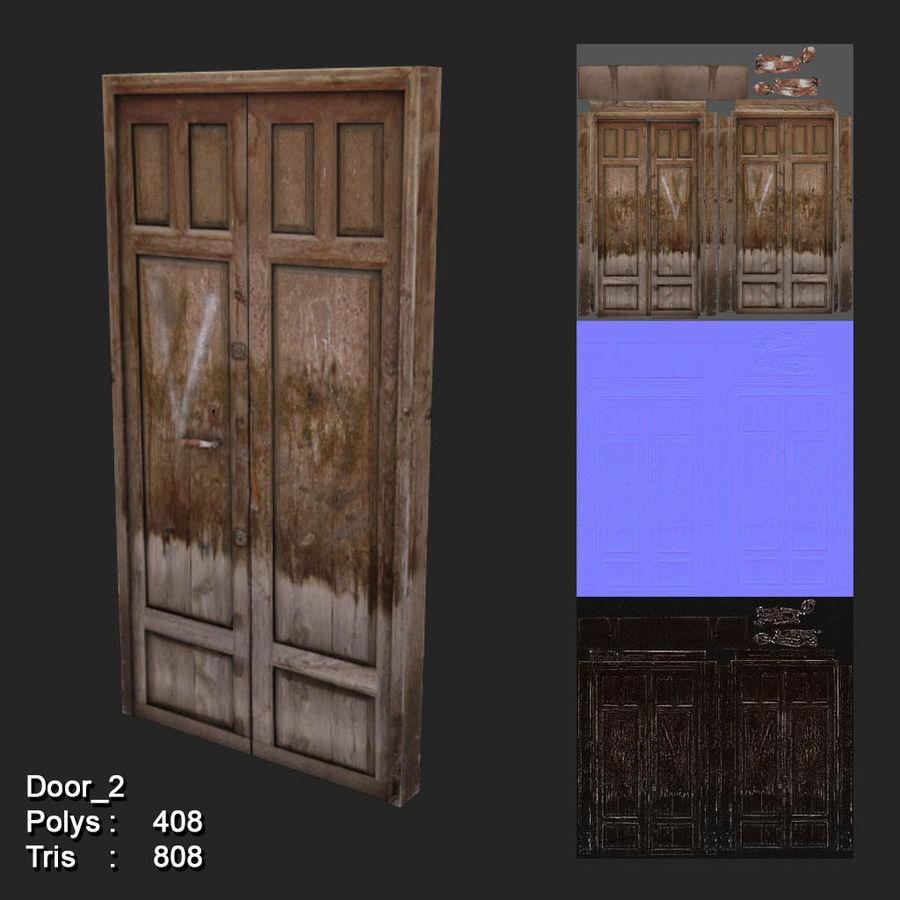 10 Low Poly Door For game Assets 3D Model $15 -  obj - Free3D