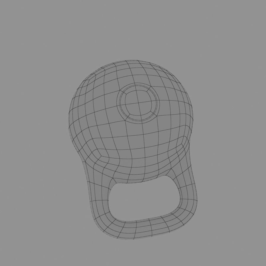 kettlebell royalty-free 3d model - Preview no. 14