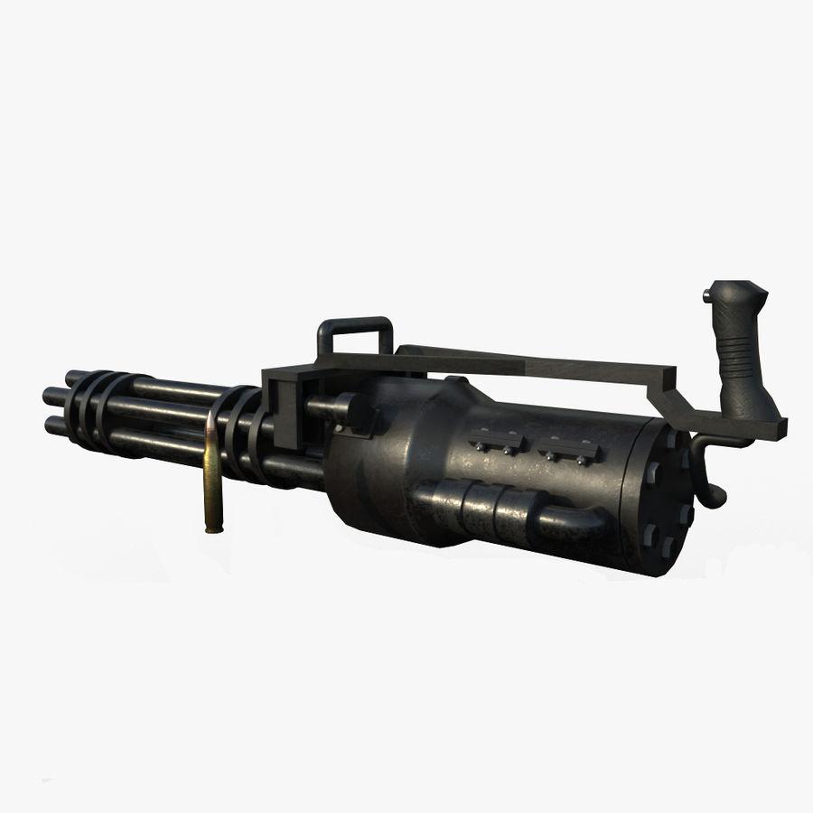 Machine gun royalty-free 3d model - Preview no. 1