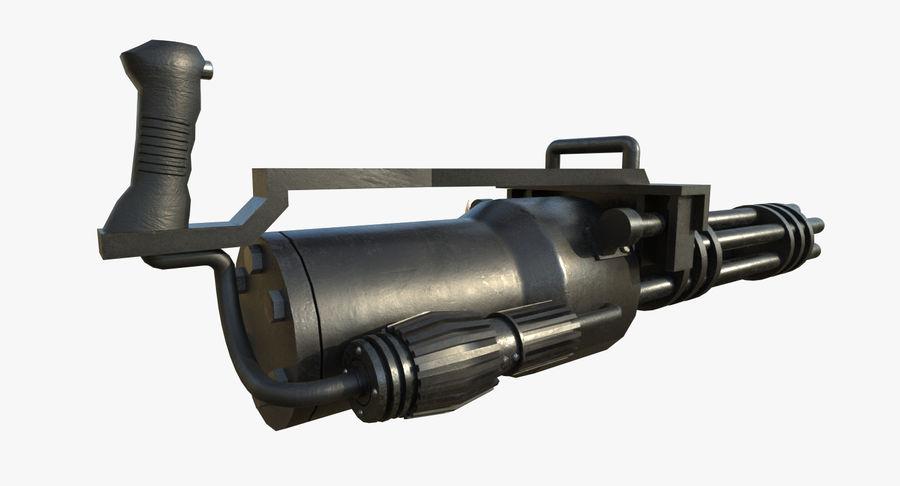 Machine gun royalty-free 3d model - Preview no. 5