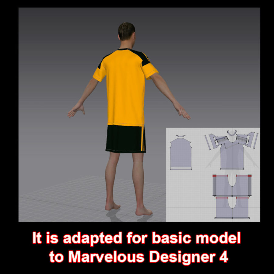 sport royalty-free 3d model - Preview no. 10