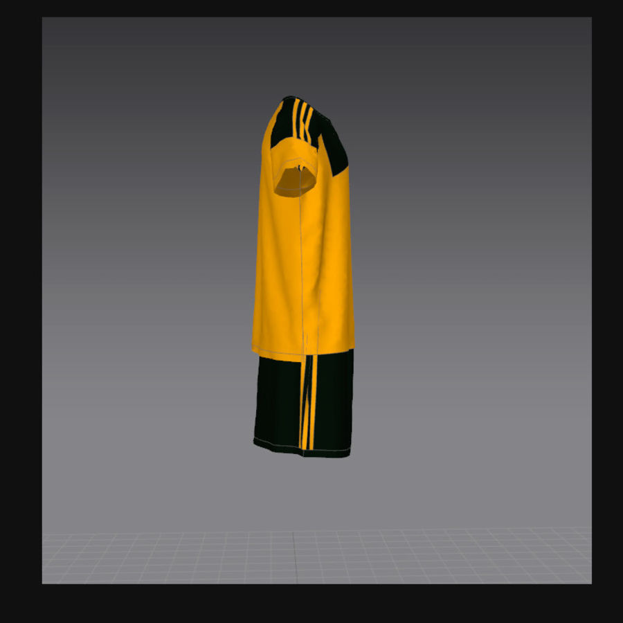 sport royalty-free 3d model - Preview no. 3