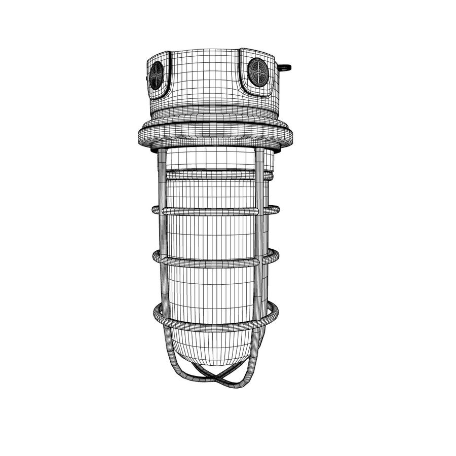 Ceiling Mount Exterior Light Fixture royalty-free 3d model - Preview no. 5