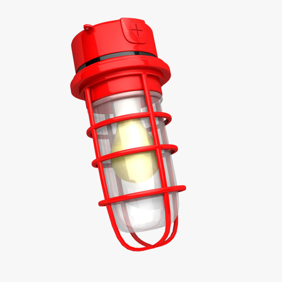 Ceiling Mount Exterior Light Fixture royalty-free 3d model - Preview no. 1