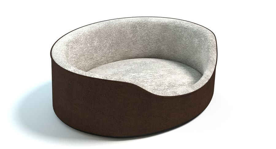 Pet Bed royalty-free 3d model - Preview no. 3