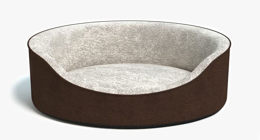 Pet Bed royalty-free 3d model - Preview no. 2