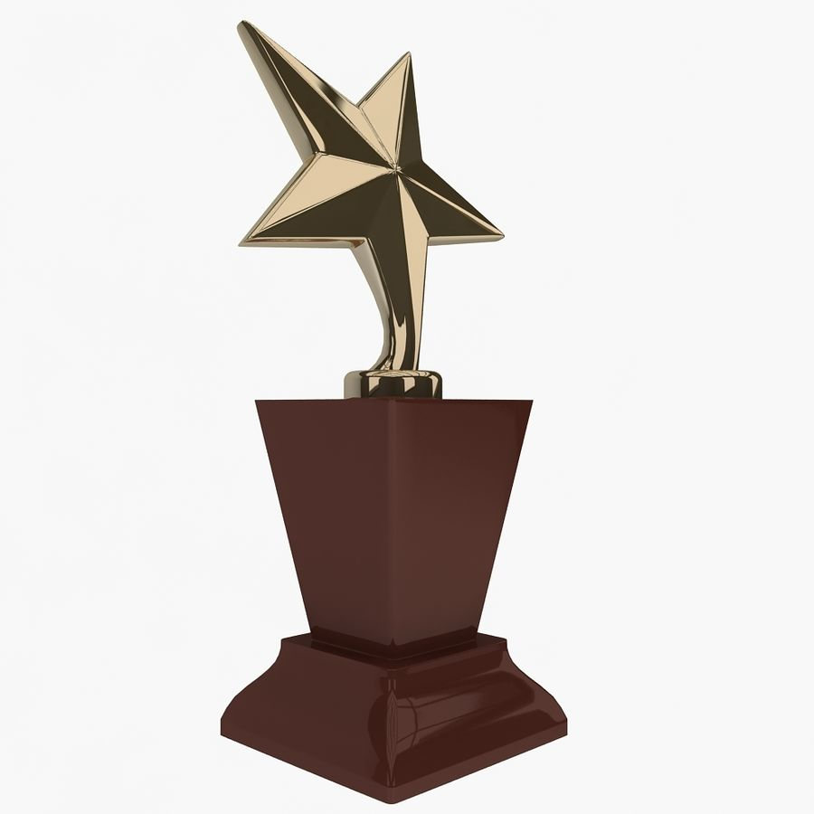 Trophy royalty-free 3d model - Preview no. 1