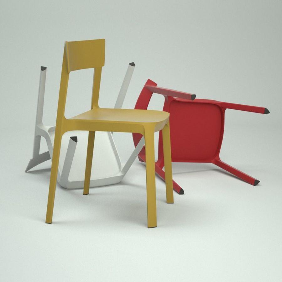 Chair Calligaris Skin 3d Model 19 Obj Fbx 3ds C4d