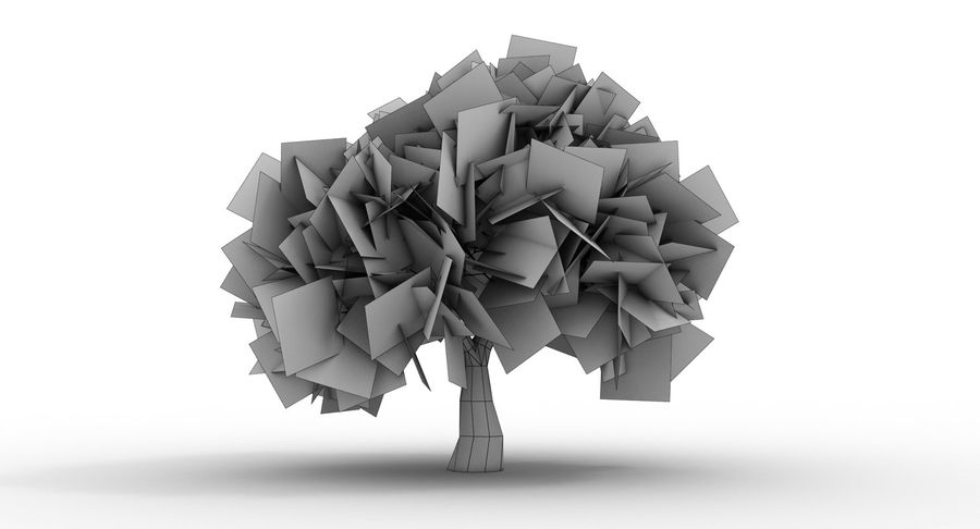 Olive Tree 2 Royalty Free 3d Model