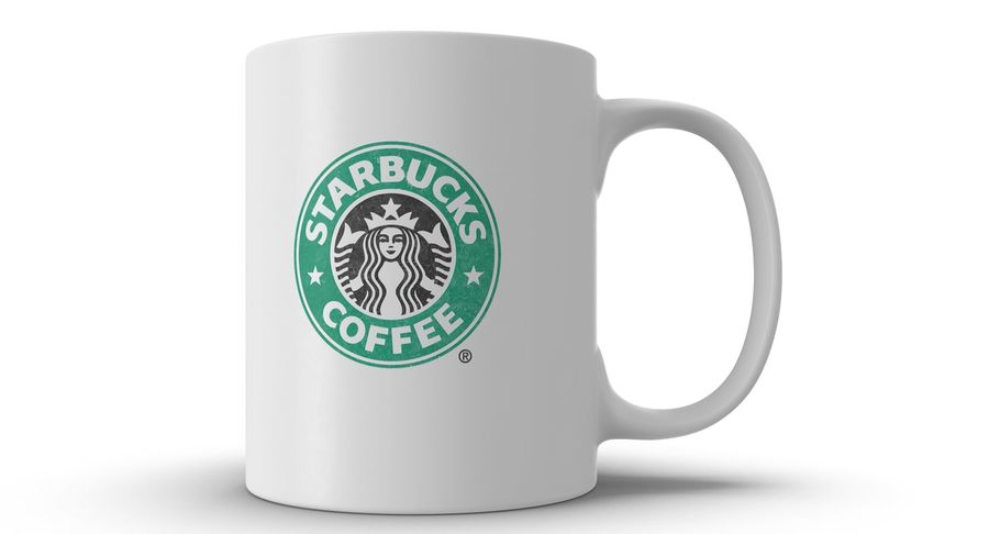 Coppa Starbucks royalty-free 3d model - Preview no. 15