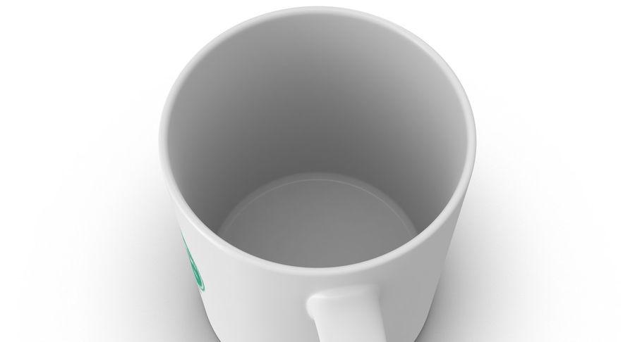 Coppa Starbucks royalty-free 3d model - Preview no. 12