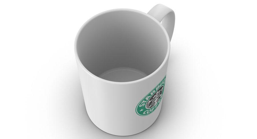 Coppa Starbucks royalty-free 3d model - Preview no. 6
