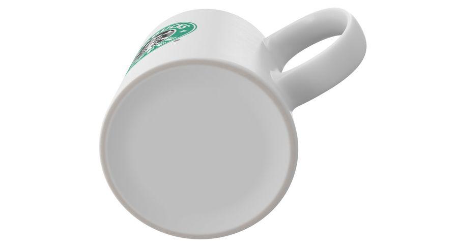 Coppa Starbucks royalty-free 3d model - Preview no. 13