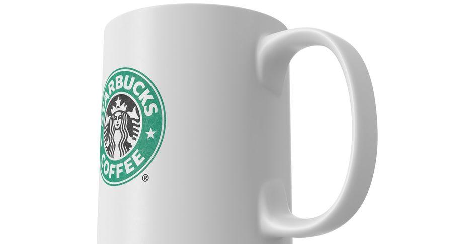 Coppa Starbucks royalty-free 3d model - Preview no. 10