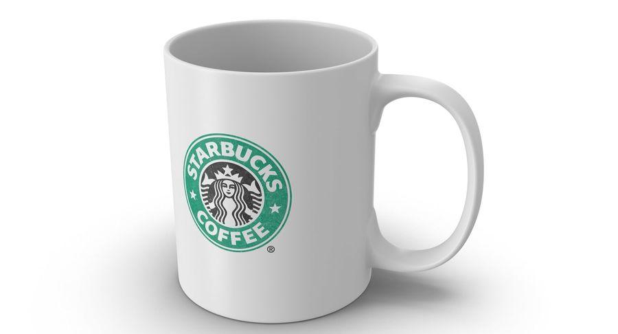 Coppa Starbucks royalty-free 3d model - Preview no. 2