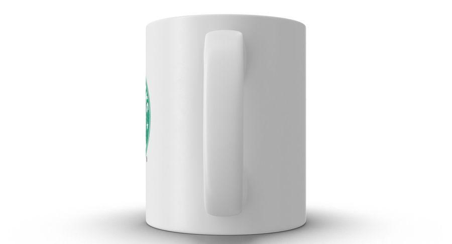 Coppa Starbucks royalty-free 3d model - Preview no. 16