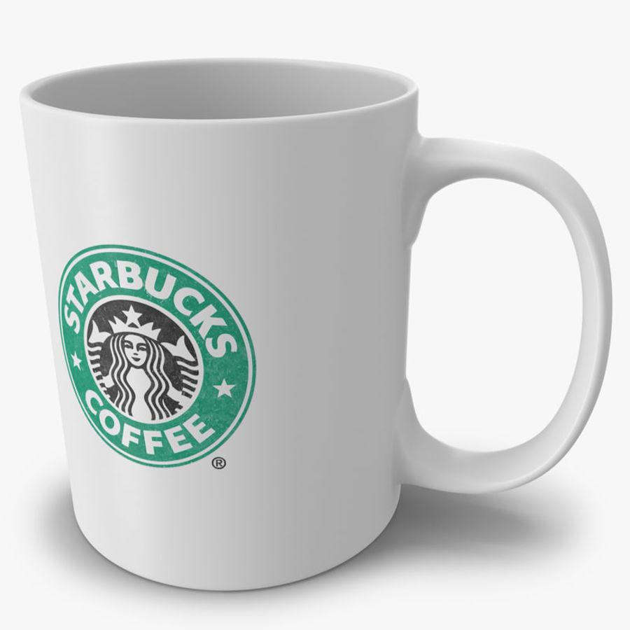 Coppa Starbucks royalty-free 3d model - Preview no. 1