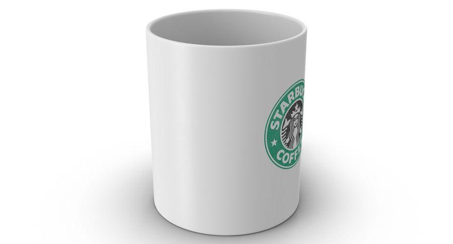 Coppa Starbucks royalty-free 3d model - Preview no. 4